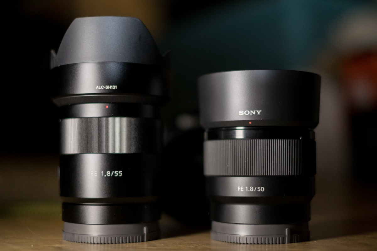 Sony 50mm f/1 8 FE vs  Zeiss 55mm f/1 8 – Photos by Johnathan Comer