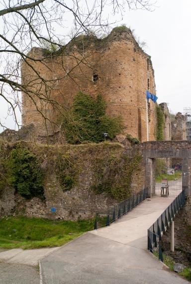 Ruined castle near Brussels.